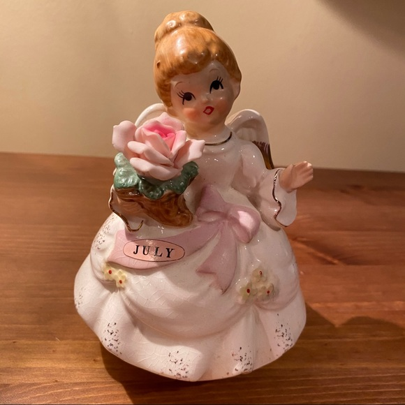 Price Import Other - Vintage Price Import Birthday Angel Music Box July